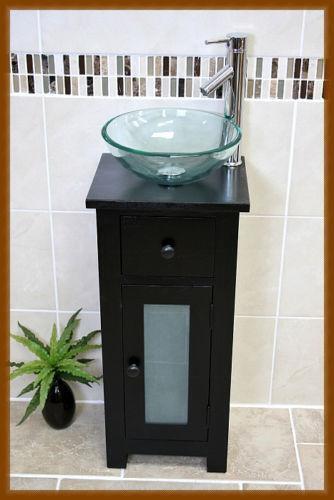 Glass Cloakroom Sink  eBay