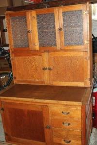 Oak Hoosier Cabinet | eBay