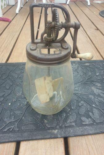 electric grinder kitchen skinny cabinet dazey butter churn | ebay