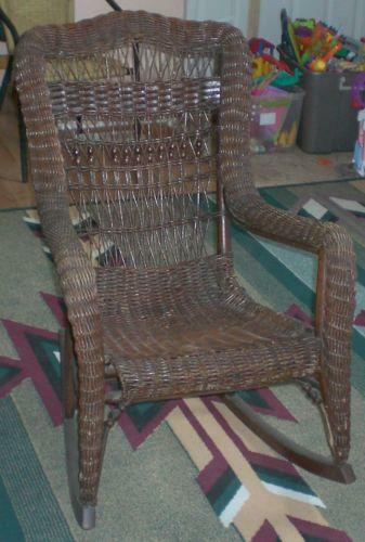 wicker patio chair set of 2 directors chairs covers vintage furniture | ebay