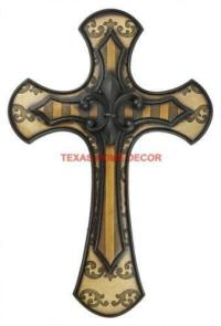 Large Decorative Wall Crosses | eBay