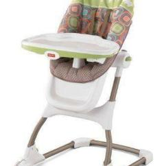 Rainforest High Chair 1950s Metal Lawn Chairs Fisher Price Ez Clean | Ebay