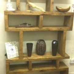 White Furniture Set Living Room Hardwood Flooring Sunken Bookcase Divider | Ebay