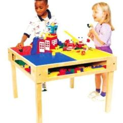 Handmade Wooden Chairs Chair Tight Glue Lego Duplo Table | Ebay