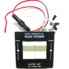 Bennett Trim Tab Pump Ez Loader Trailer Lights Wiring Diagram Switch | Ebay