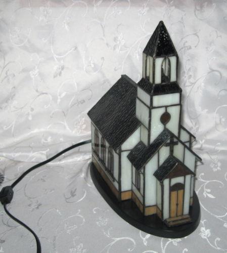 Stained Glass Church Light EBay
