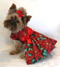 Small Dog Christmas Dress | eBay
