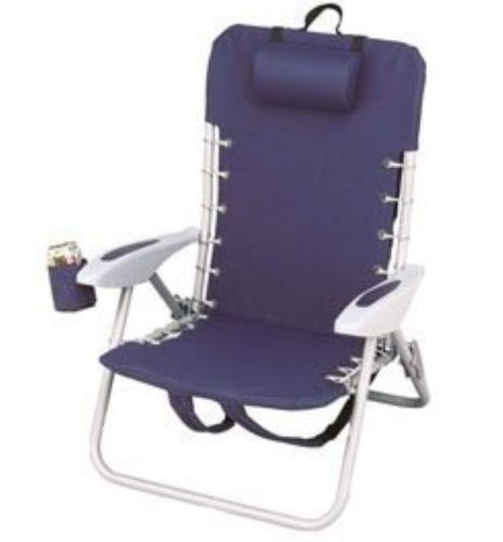 sling back patio chairs caravan canopy chair rio beach | ebay