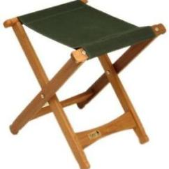 Wood Camp Chair Dining Seat Cover Fabric Stool Ebay