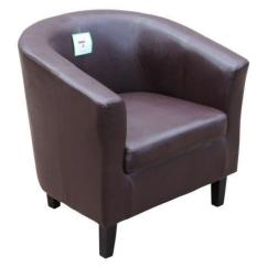 Leather Tub Chair Big And Tall Executive Office Chairs Ebay