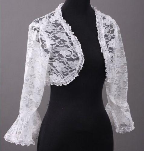 Wedding Dress Lace Jacket  eBay