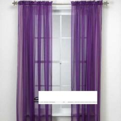 Waverly Kitchen Curtains White Appliances Purple Valance | Ebay