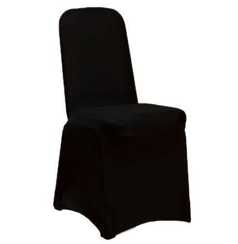 banquet chair covers ebay knoll desk black spandex |