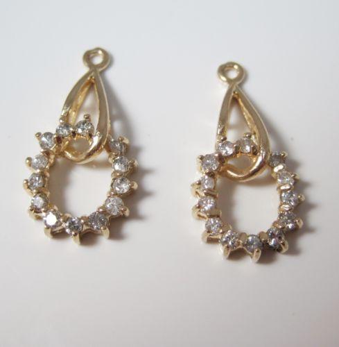 Diamond Earring Jackets EBay