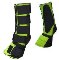 LIME GREEN Adjustable Neoprene Combination Bell Boot! NEW ...