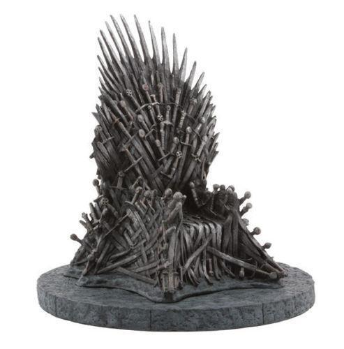iron throne chair backboard fur office collectibles ebay