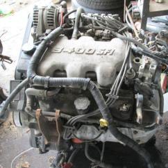 Nissan 2 5 Engine Diagram 2003 Dodge Ram Infinity Wiring Pontiac V6 | Ebay