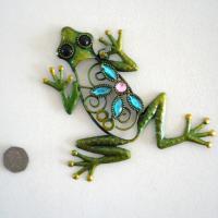 Green Metal Wall Art