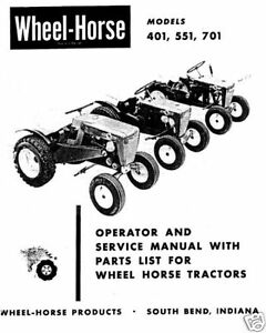 Wheel-Horse-Tractor-Operation-Service-Parts-Manual