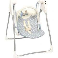 Graco Swing Chair Zebra Kitchen Barstools Chairs Swings Bouncers Ebay