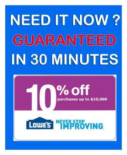 Lowes Coupons Printable  eBay
