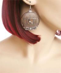 Bird Cage Earrings   eBay