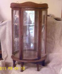 Vintage Curio Cabinet   eBay