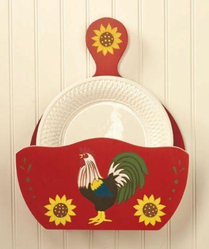 Rooster Utensil Holder EBay