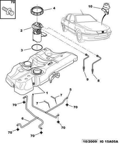 Peugeot 306 Fuel Pump