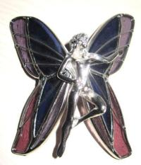 Stained Glass Fairy   eBay