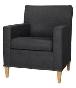 chair covers dunelm mill modern occasional chairs arm ebay karlstad armchair cover