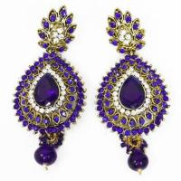 Indian Chandelier Earrings | eBay