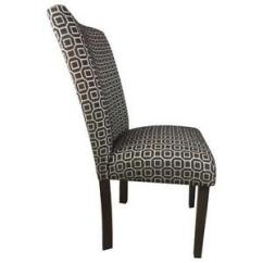 Black Parsons Chair Colorful Patio Chairs Ebay Upholstered