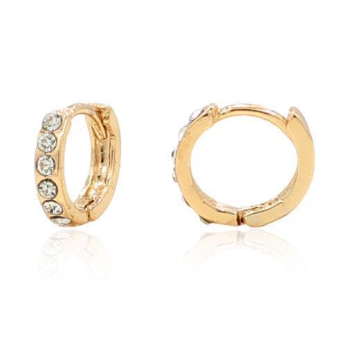 Baby Earrings White Gold