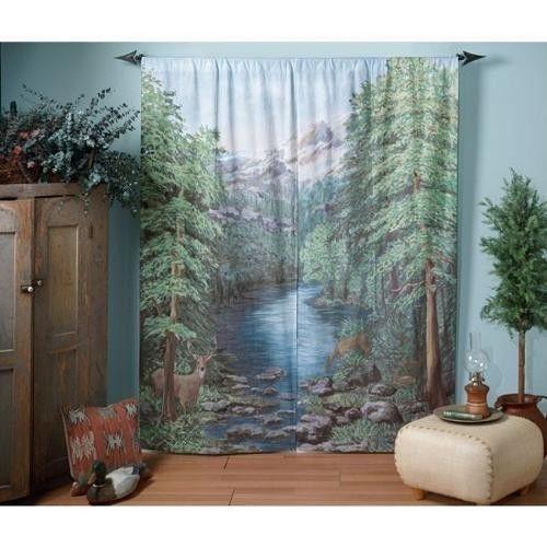 Window Art Curtains  eBay