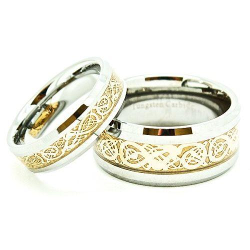 Matching Celtic Wedding Bands EBay