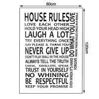 House Rules Wall Art | eBay