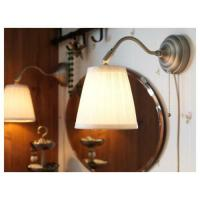 Details about Ikea Minut Wall Lamp Sconce White 6 Glass