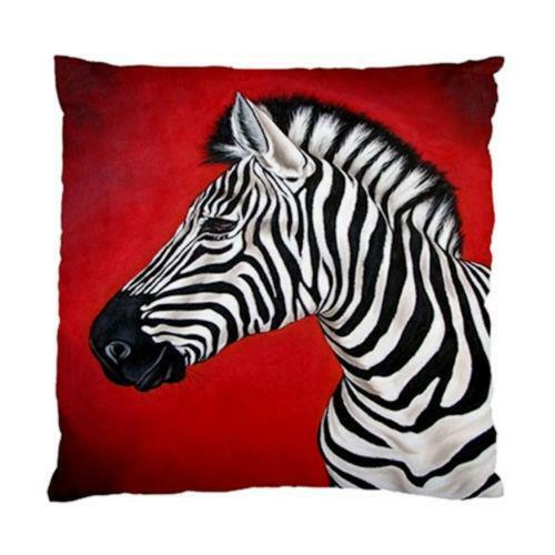 Red Zebra Decor Ebay