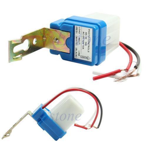motion sensor light switch wiring diagram kubota tractor 12 volt photocell: electrical & test equipment | ebay