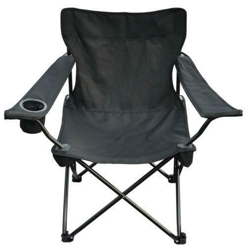 Black Camp Chair