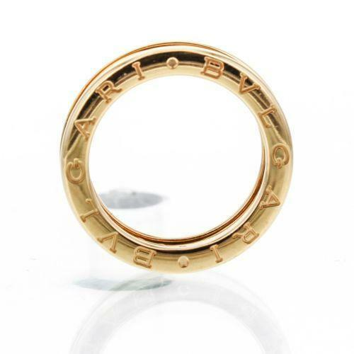 Bvlgari Ring Yellow Gold  eBay