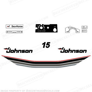 Johnson-1985-15hp-Outboard-Decal-Kit-Discontinued-Decal