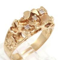 10K Gold Nugget Ring | eBay