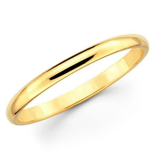 Image result for gold wedding bands for women