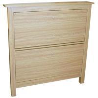 Oak Shoe Storage Cabinet   eBay