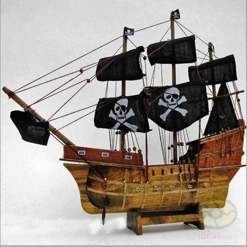 Wooden Pirate Ship Ebay
