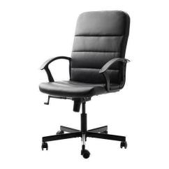 White Swivel Desk Chair Uk Reclining With Monitor Ikea Office   Ebay