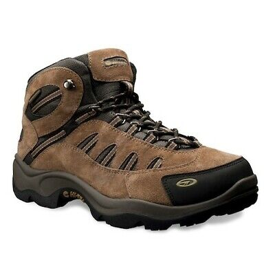 Hi-Tec Men's Bandera Mid Waterproof Brown Hiking Boots ~ Size 10.5M ~ Brand New!