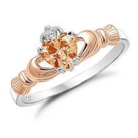 Rose Gold Claddagh Ring | eBay